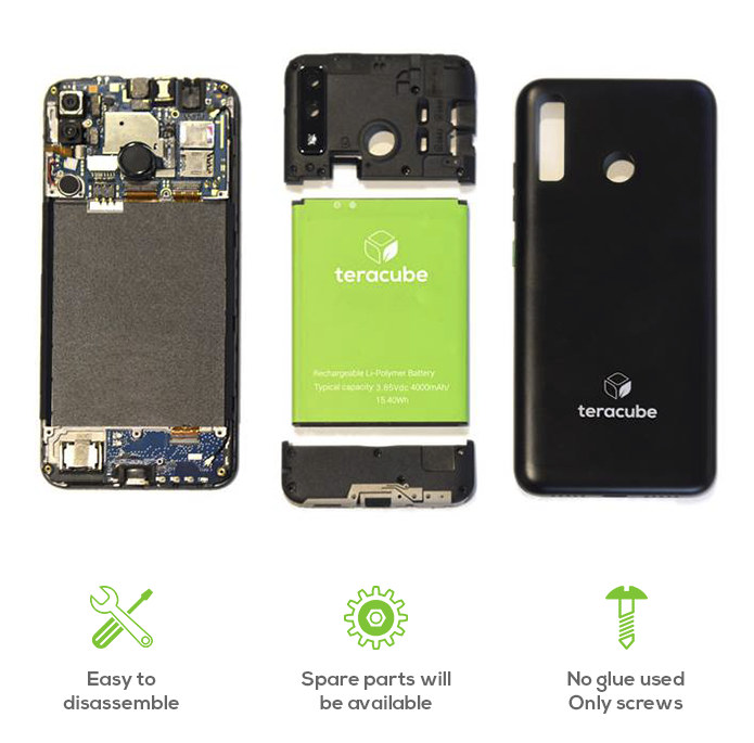 Teracube 2E sustainbable phone