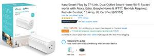 UL-Certified Smart Plug TP-Link Kasa
