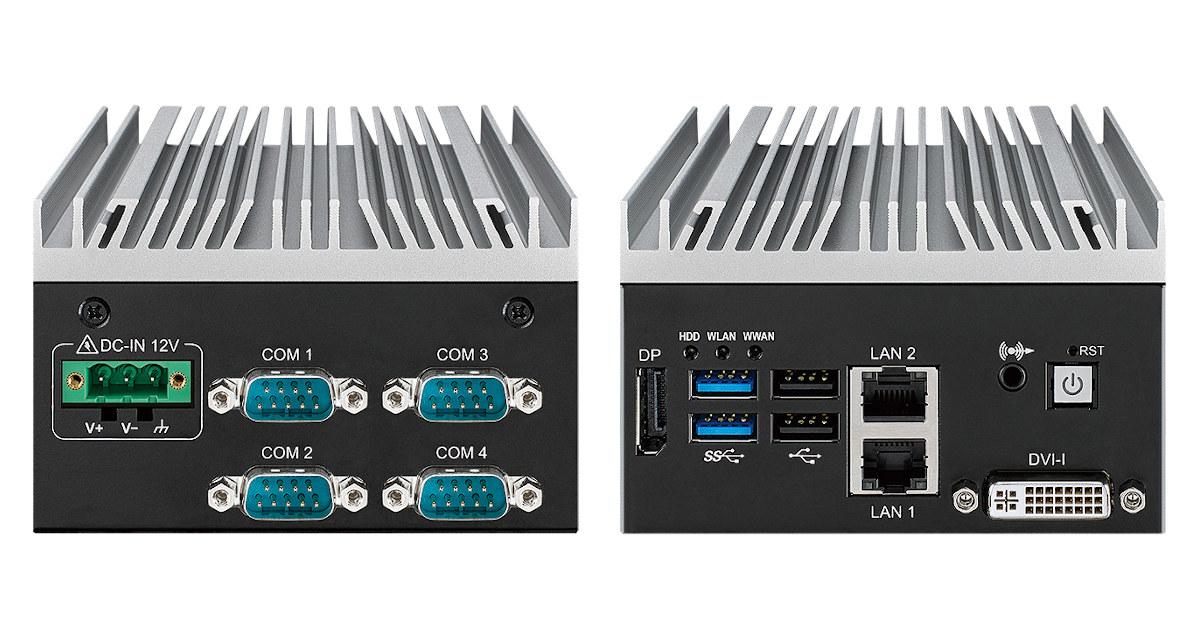 Vecom SPC-6000 Atom x6425RE embedded mini pc