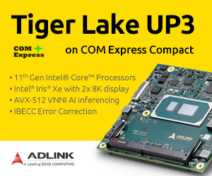 Tiger Lake UP3 COM Express module
