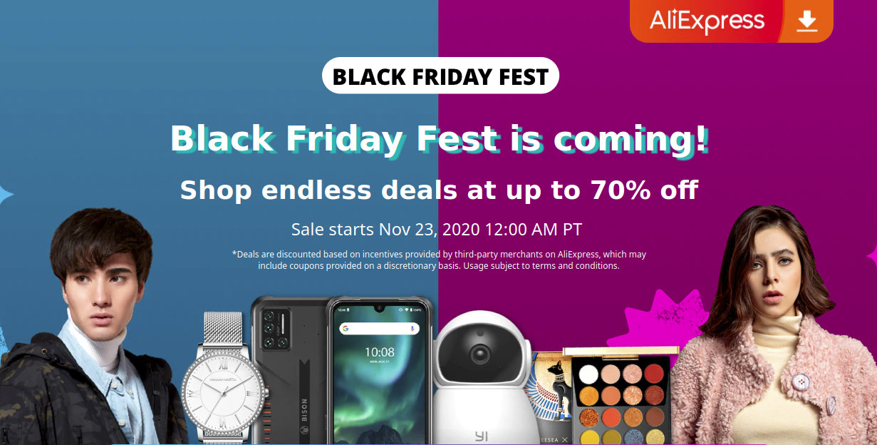 Aliexpress Black Friday Fest 2020