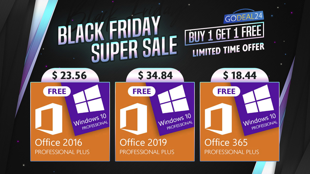 Black Friday Super Sale GODEAL24
