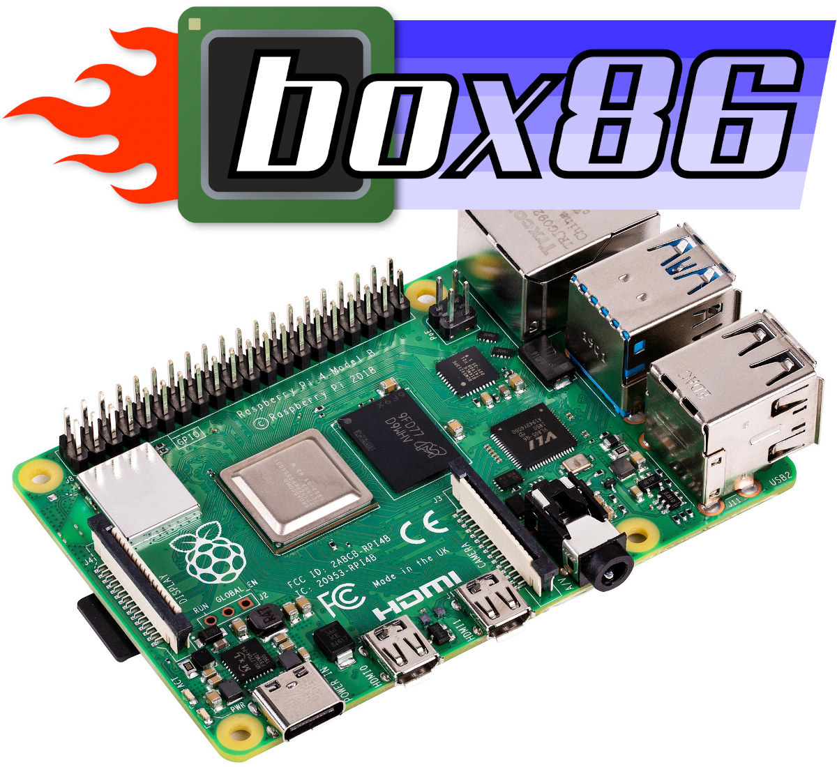 Box86 x86 emulation Raspberry Pi