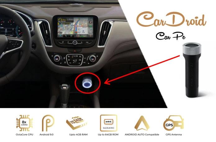 CarDroid Car PC