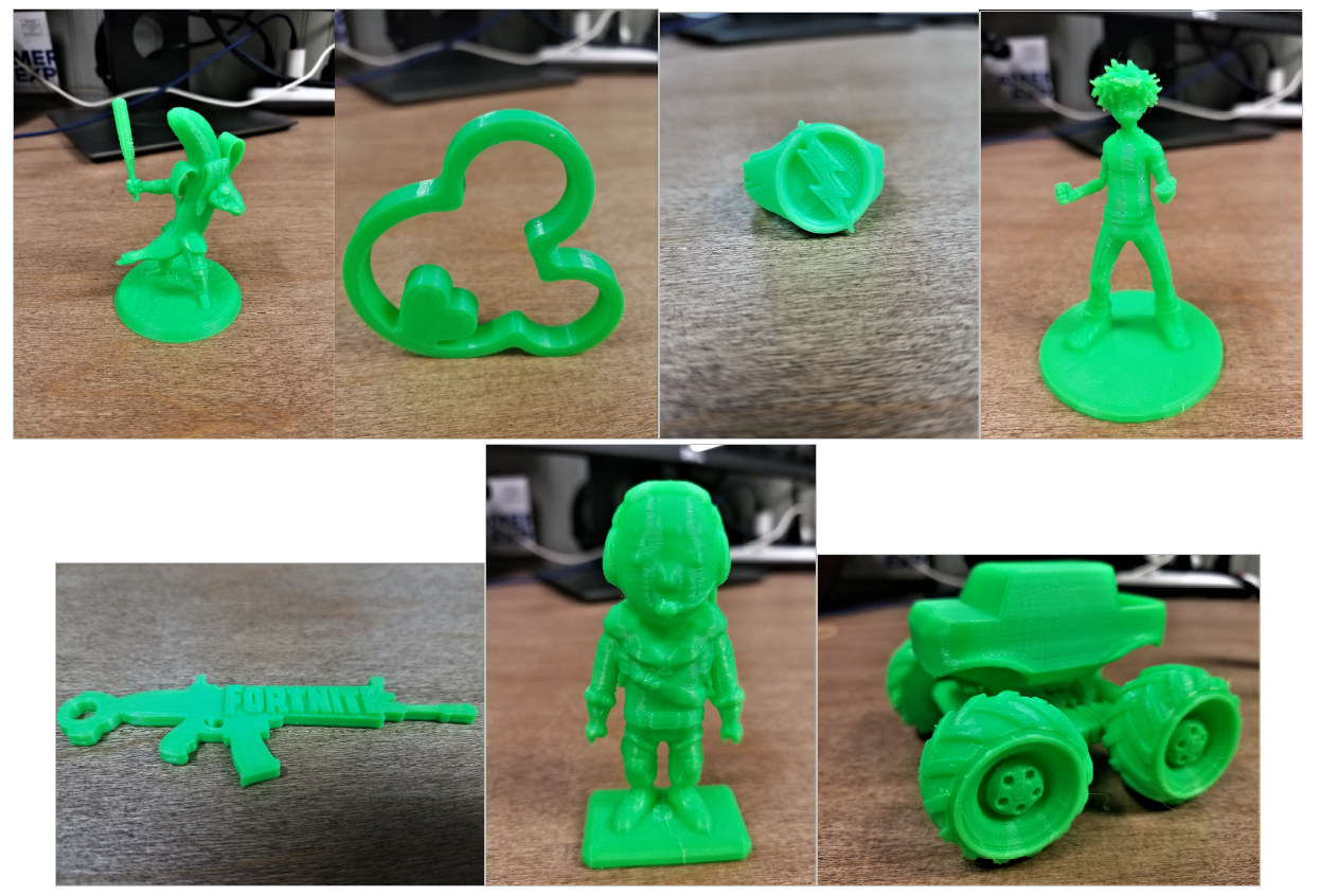Ender 3 Pro Print Samples
