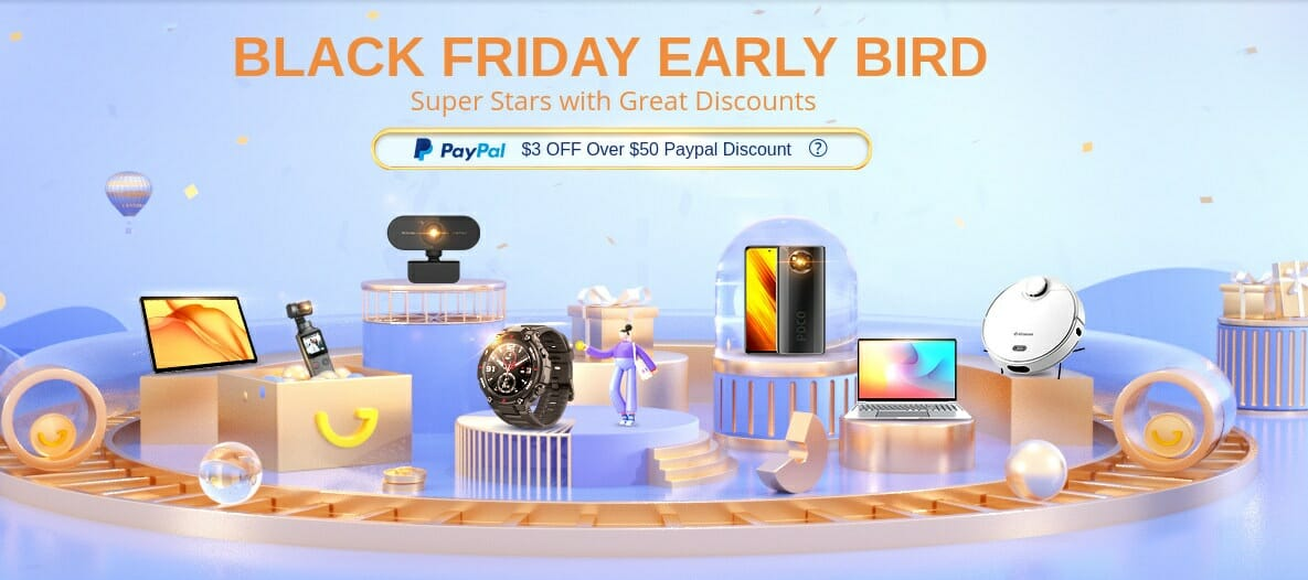GearBest Black Friday 2020 Early Bird