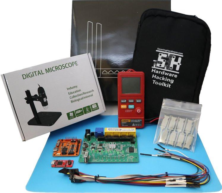 Hardware hacking toolkit