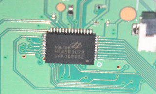 Holtek HT45R0072 MCU