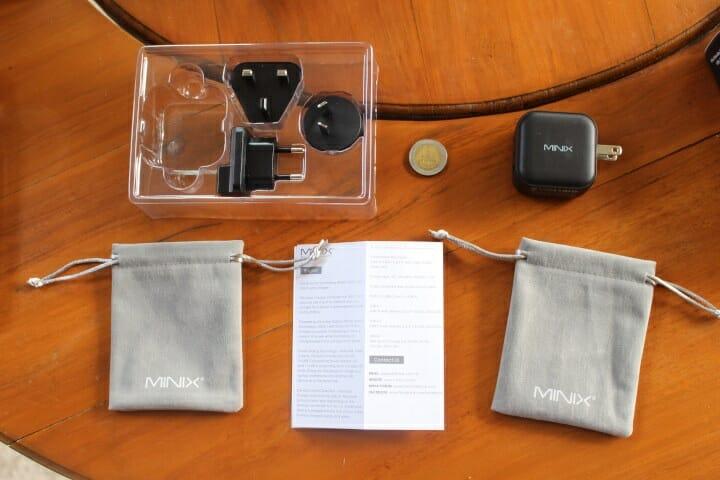 MINIX NEO P1 accessories