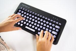 Nemeio true international keyboard epaper keys