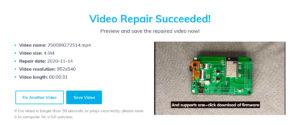 Online Video Repair Tool