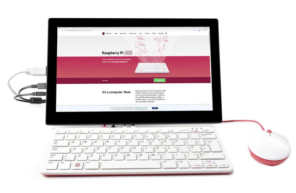 Raspberry Pi 400 13-3-inch display