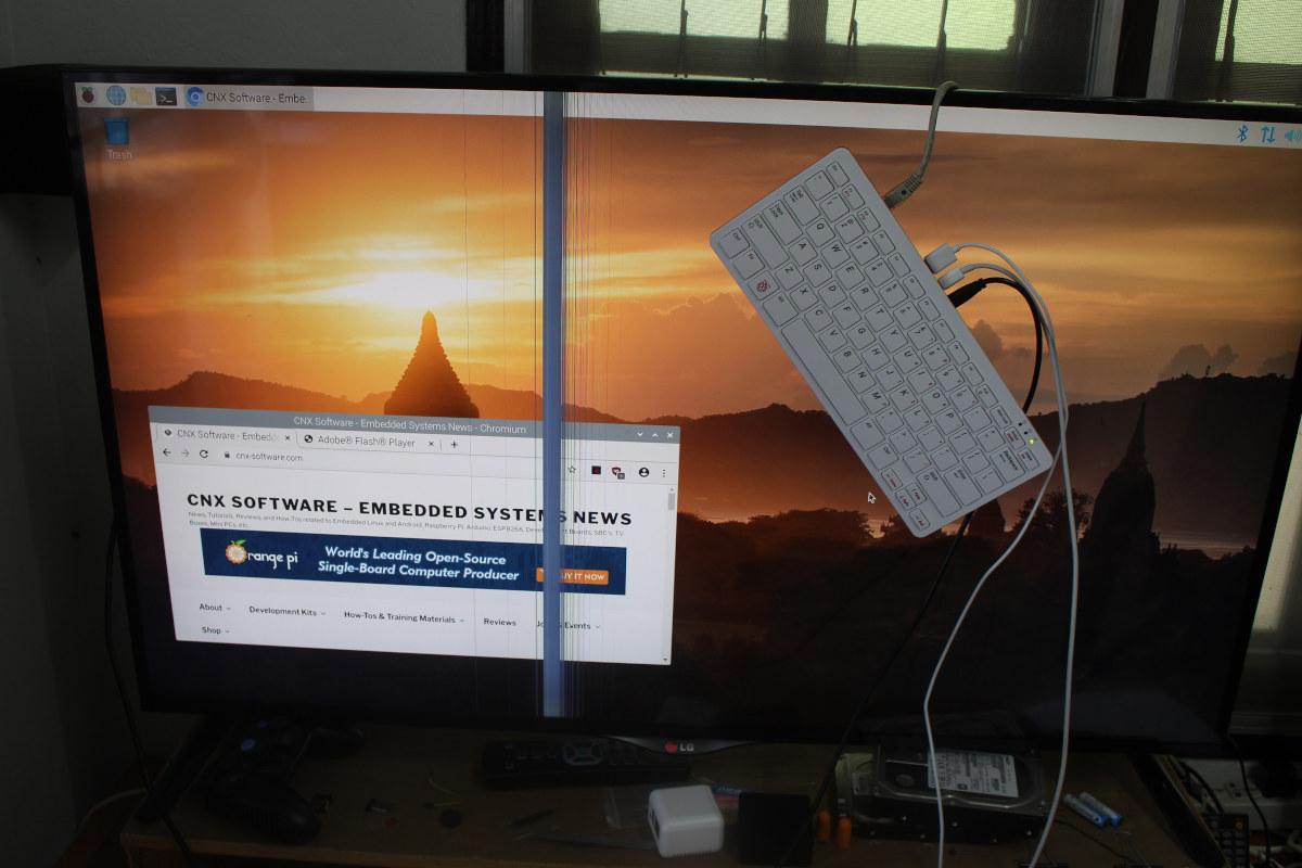 Raspberry Pi 400 Raspberry Pi OS