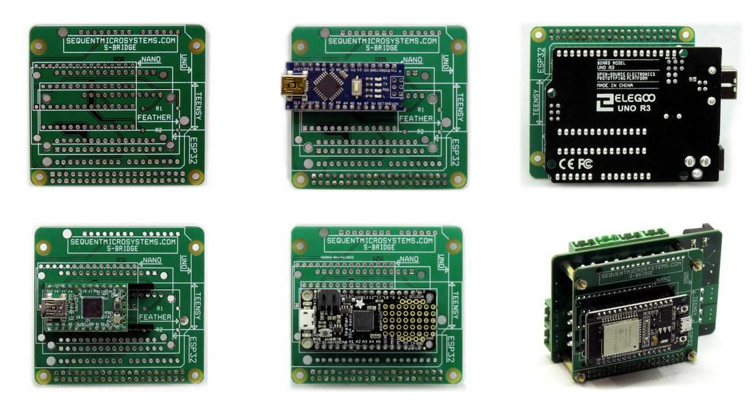 S-Bridge Arduino Teensy Feather ESP32