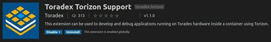 Torizon Extension Visual Studio