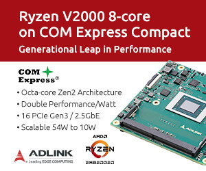 Com Express module with Ryzen 2000 SoC