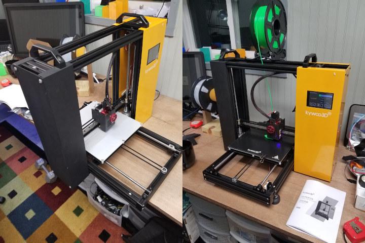 Kywoo Tycoon 3D printer assembly