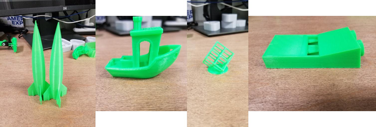 small 3D prints