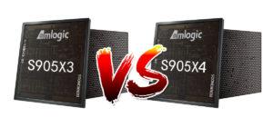 Amlogic S905X3 vs S905X4