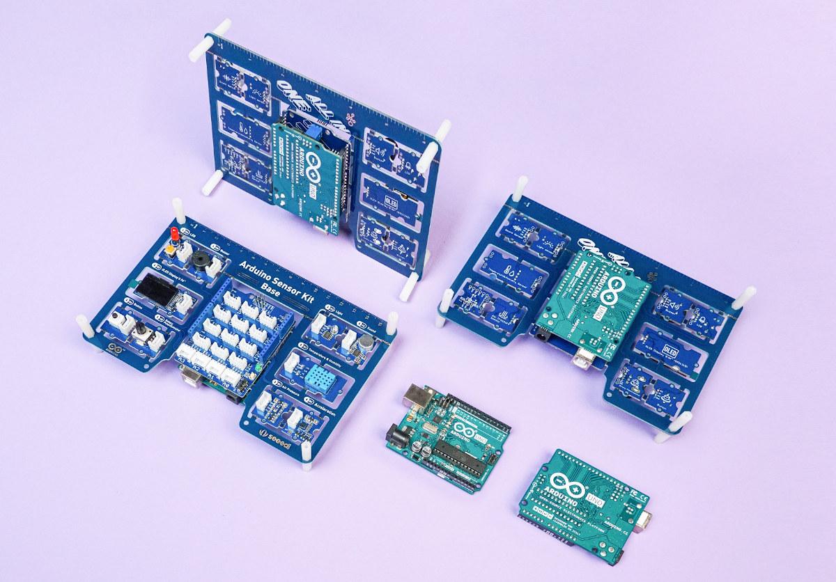 Arduino UNO sensor kit shield
