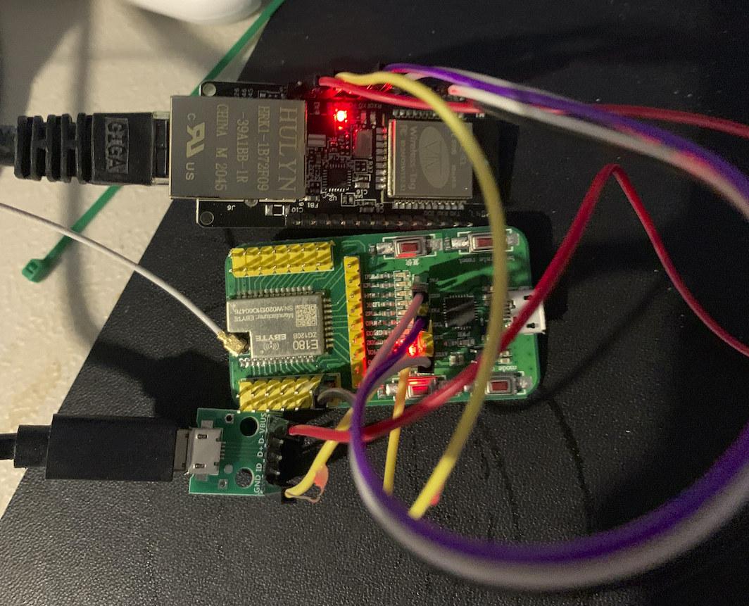 ESP32 Zigbee Ethernet Bridge
