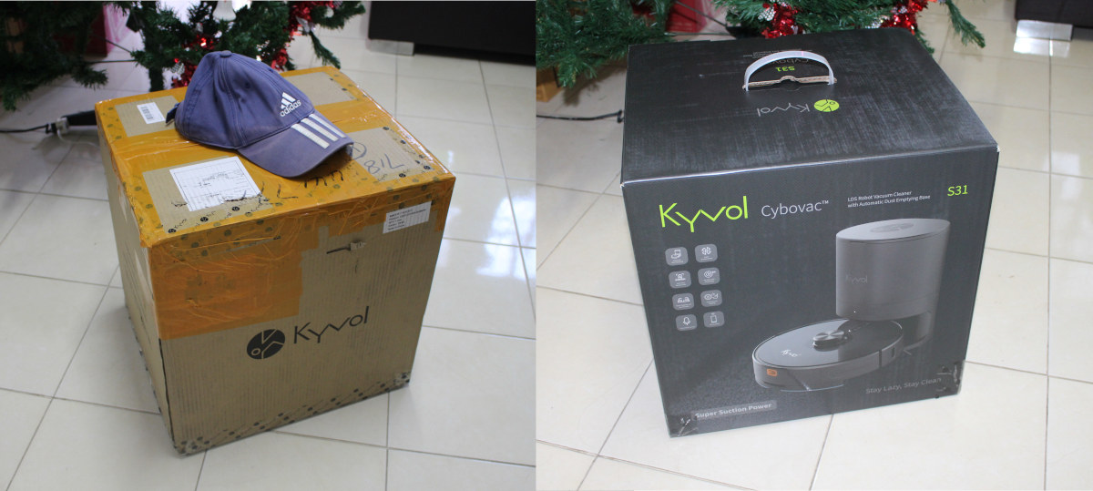 Kyvol Cybovac S31 smart vacuum cleaner robot