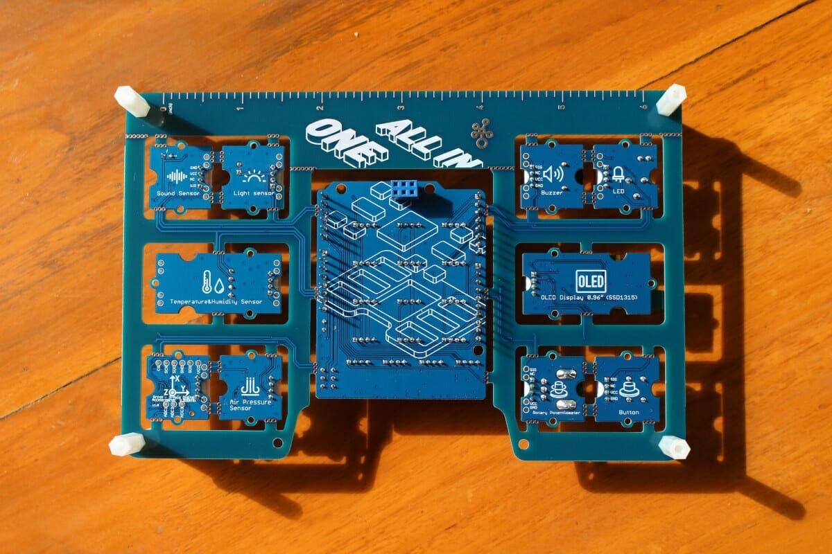 Large Arduino Grove Sensor Shield