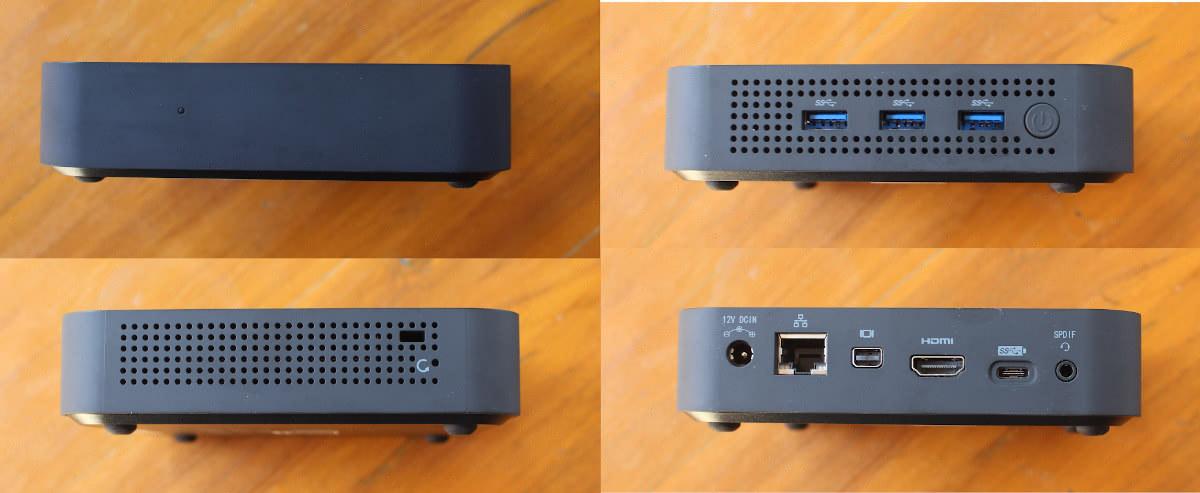 MINIX NEO J50C-4 Max Ports