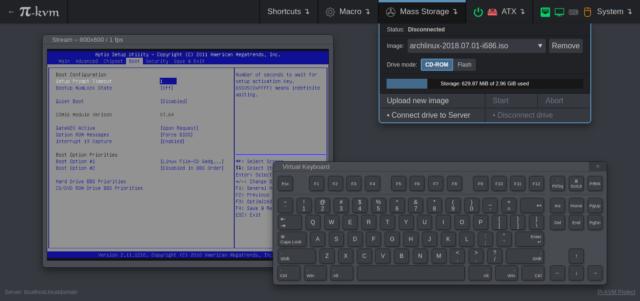 Pi-KVM Web UI