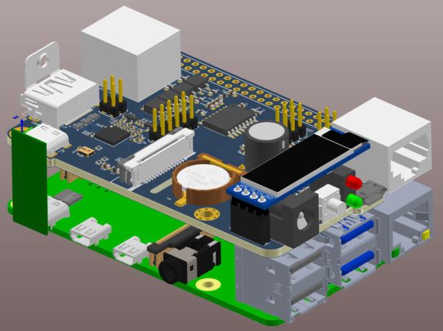 Pi-KVM v3 board