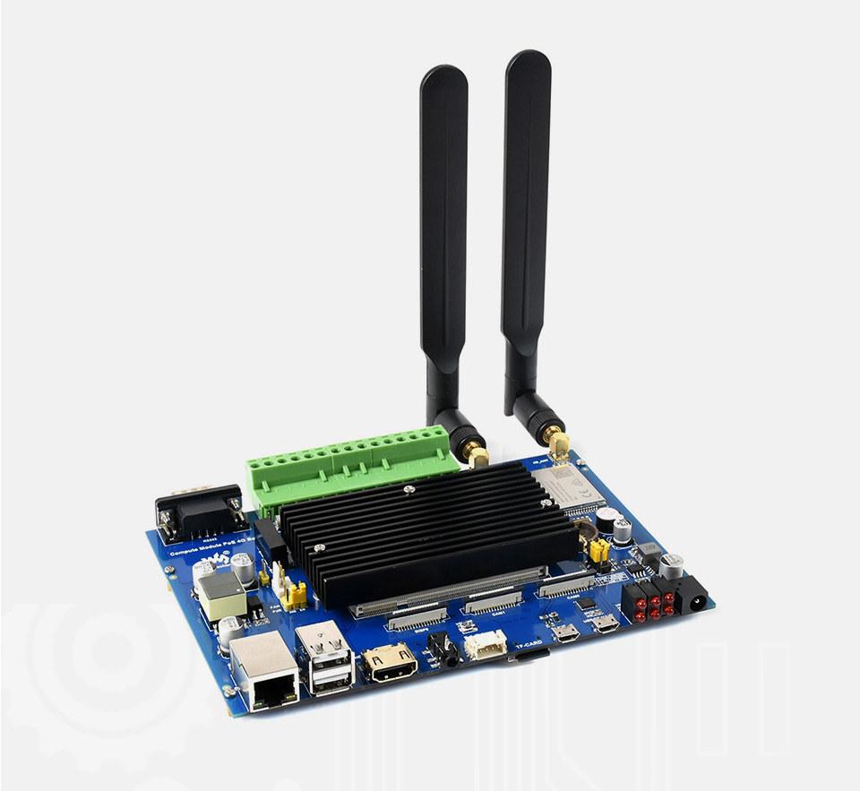 Raspberry Pi CM3+ PoE 4G LTE