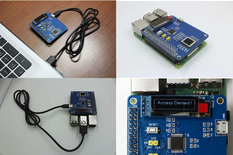 Raspberry Pi Fingerprint HAT expansion board