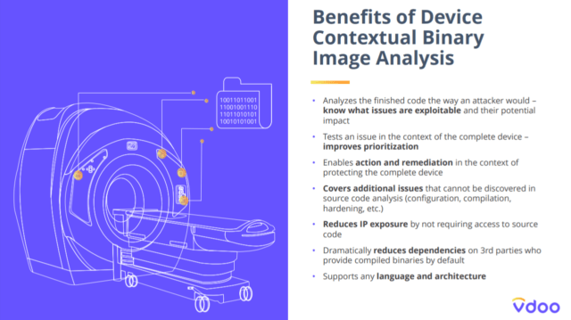 benefits of device contextual binary image analysis