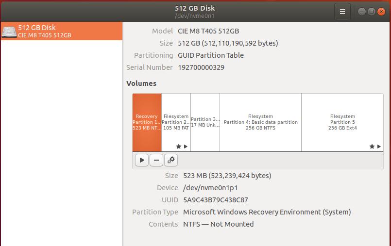 cincoze gm-1000 ubuntu disk management