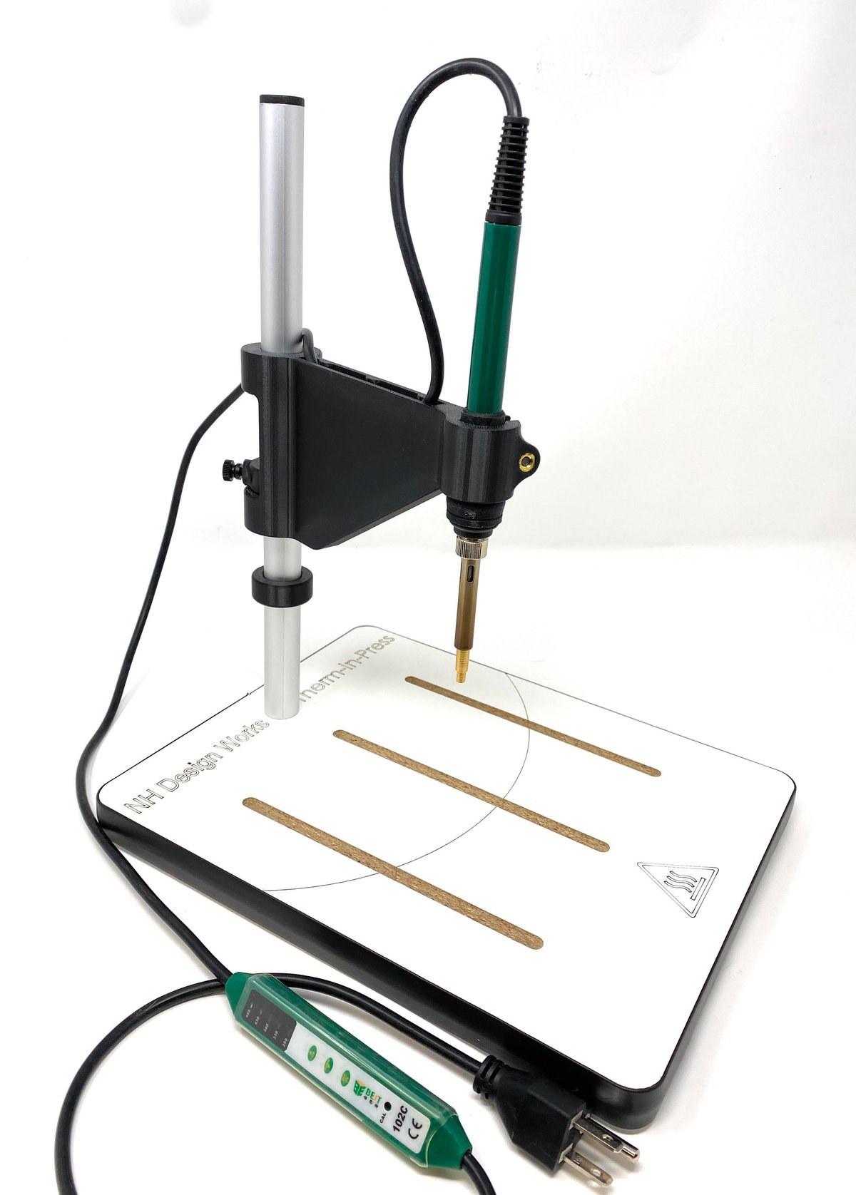 thermal insert heat press