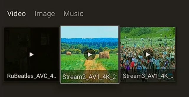 4K AV1 playback in S905X4 TV box