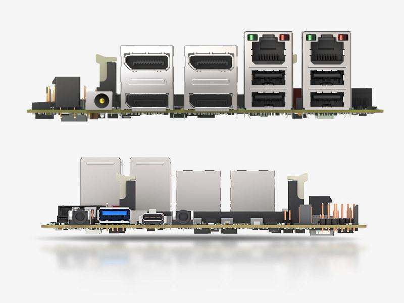 AMD Ryzen Embedded V2000 mini-STX SBC