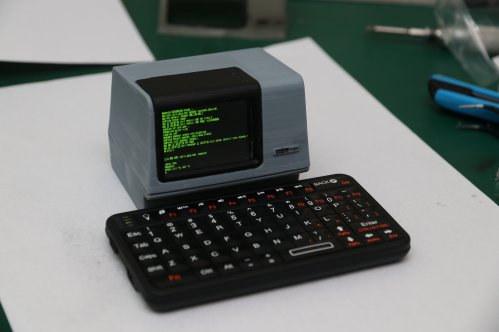 ESP32 PDP-11 mini replica