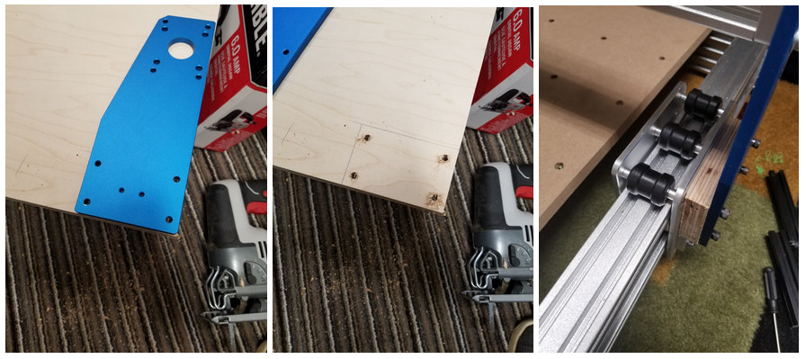 Genmitsu 4030-CNC Router Plywood mod