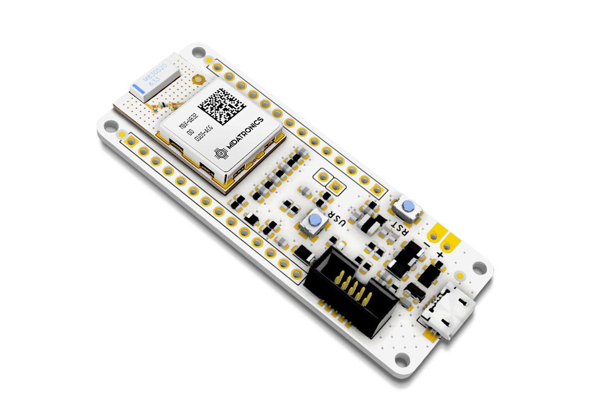 MKR SharkyPro I STM32WB55 board