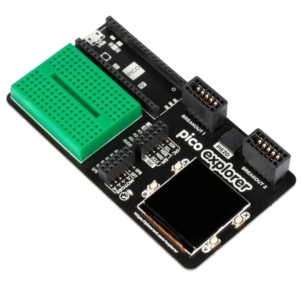 Pico Explorer Raspberry Pi Pico Carrier Board