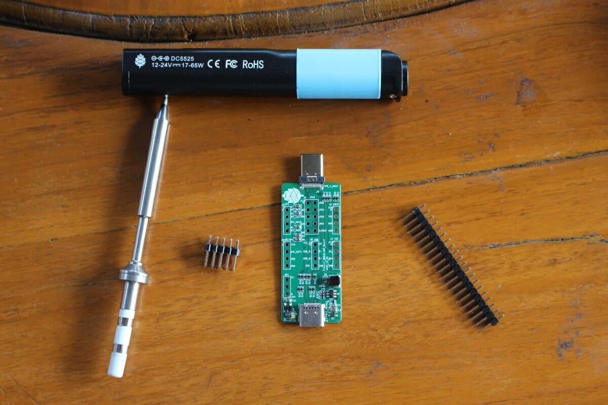 RISC-V hackable soldering iron