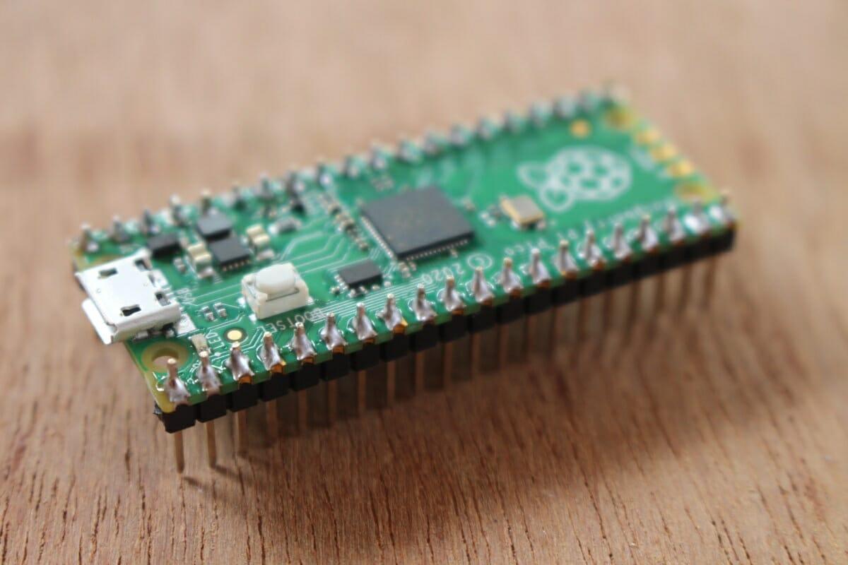 Raspberry Pi Pico Headers Soldered
