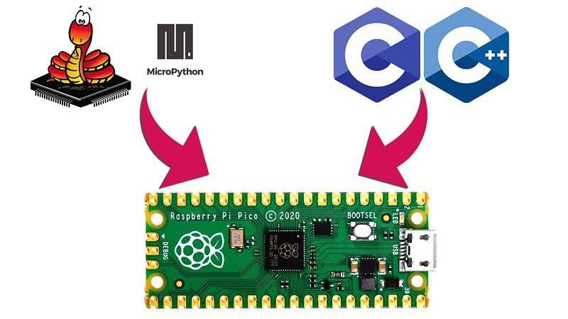 Raspberry Pi Pico MicroPython C/C++ programming