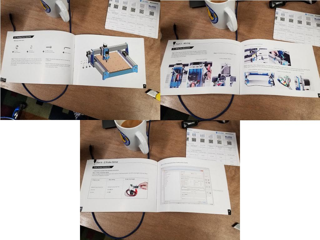 Sainsmart Genmitsu 4030-CNC Router user manual