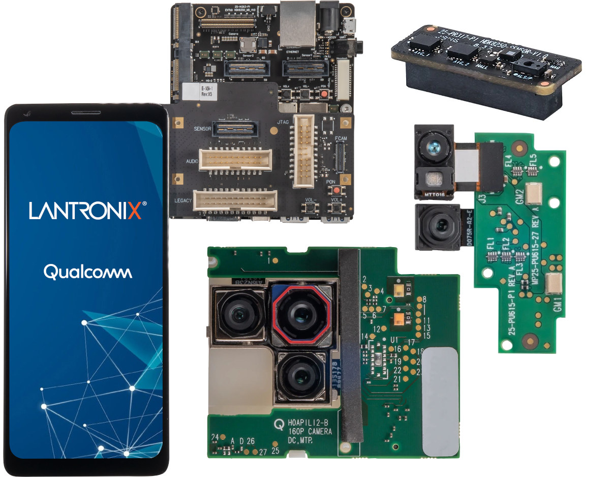 Snapdragon 888 devkit with display, camera, sensor board
