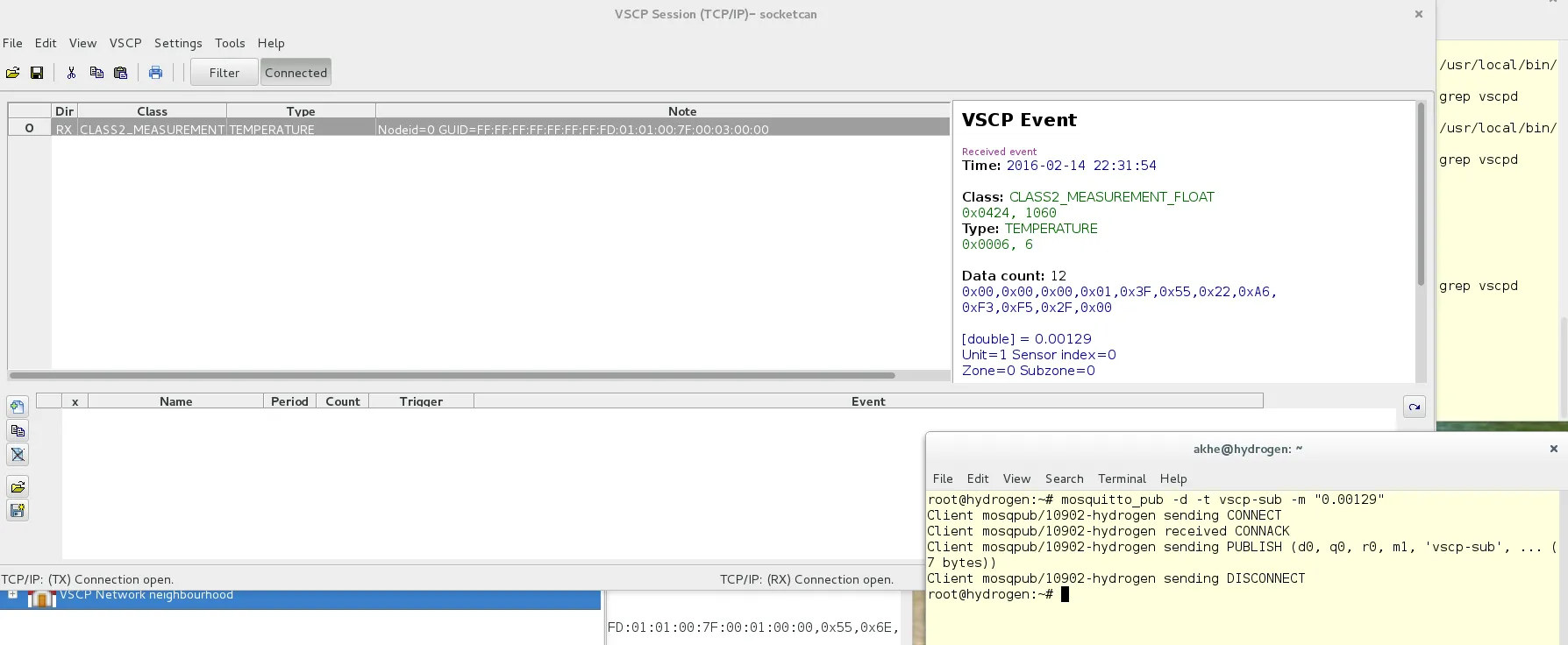 VSCP Works Screenshot