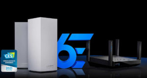 WiFi 6E router Linksys AX8400