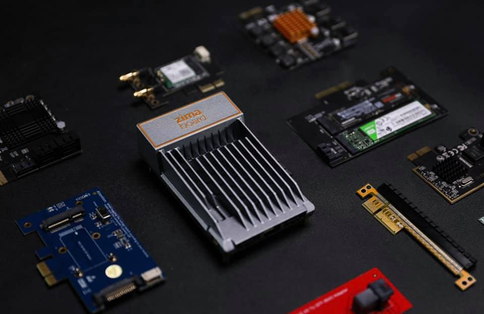 ZimaBoard PCIe cards