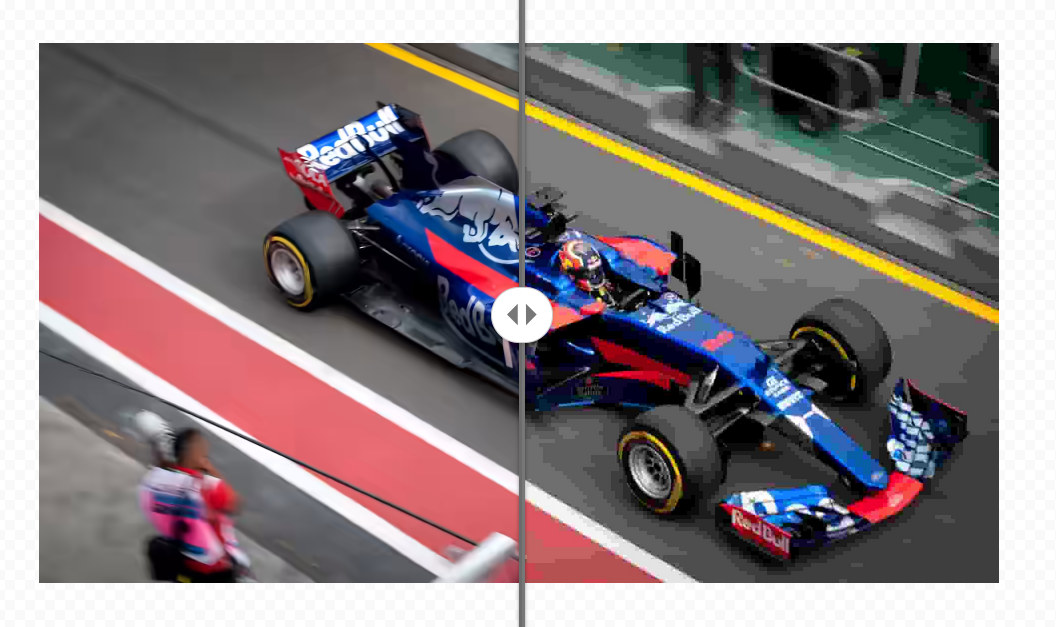 AVIF vs JPEG